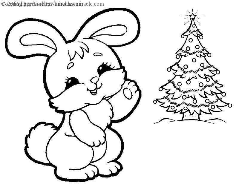 bunny coloring pages - christmas bunny coloring pages sketch templates