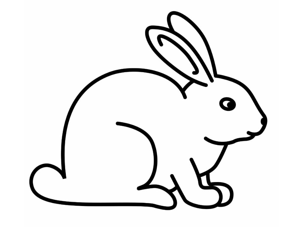 Bunny coloring pages rabbit coloring pages