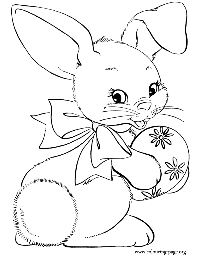 bunny rabbit coloring pages - bunny rabbits coloring pages