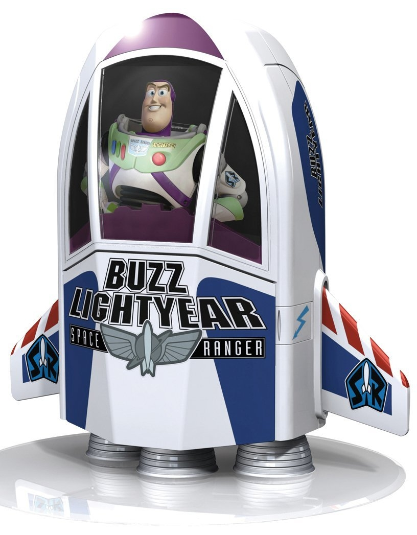 buzz lightyear coloring pages - buzz lightyear space ship p=1