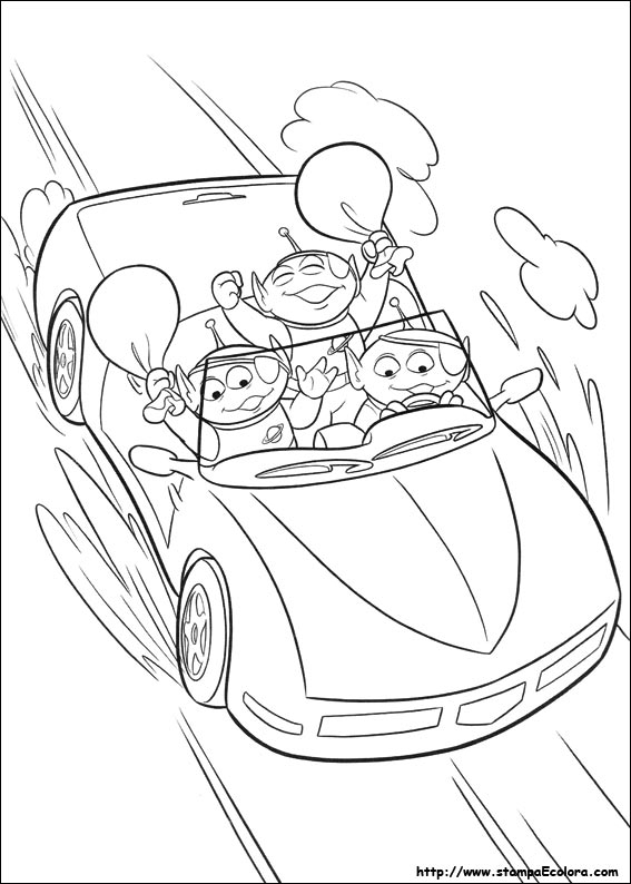 buzz lightyear coloring pages - disegni id=