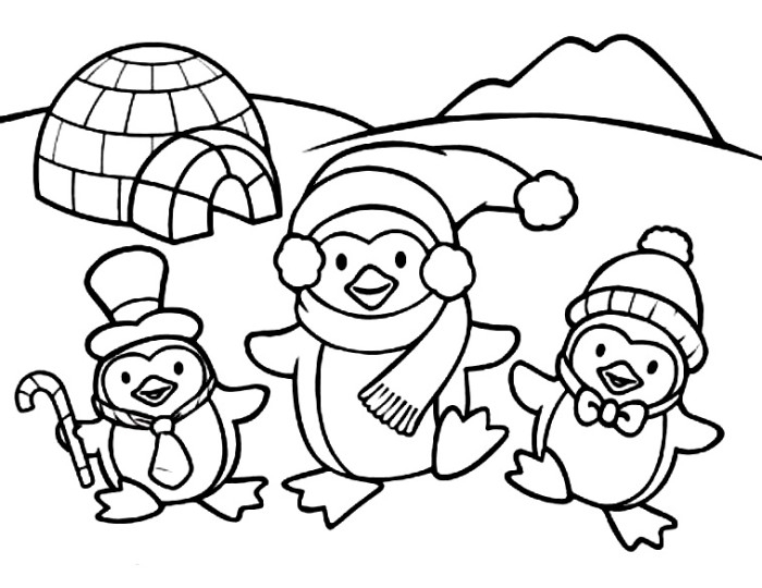 caillou coloring pages - 4