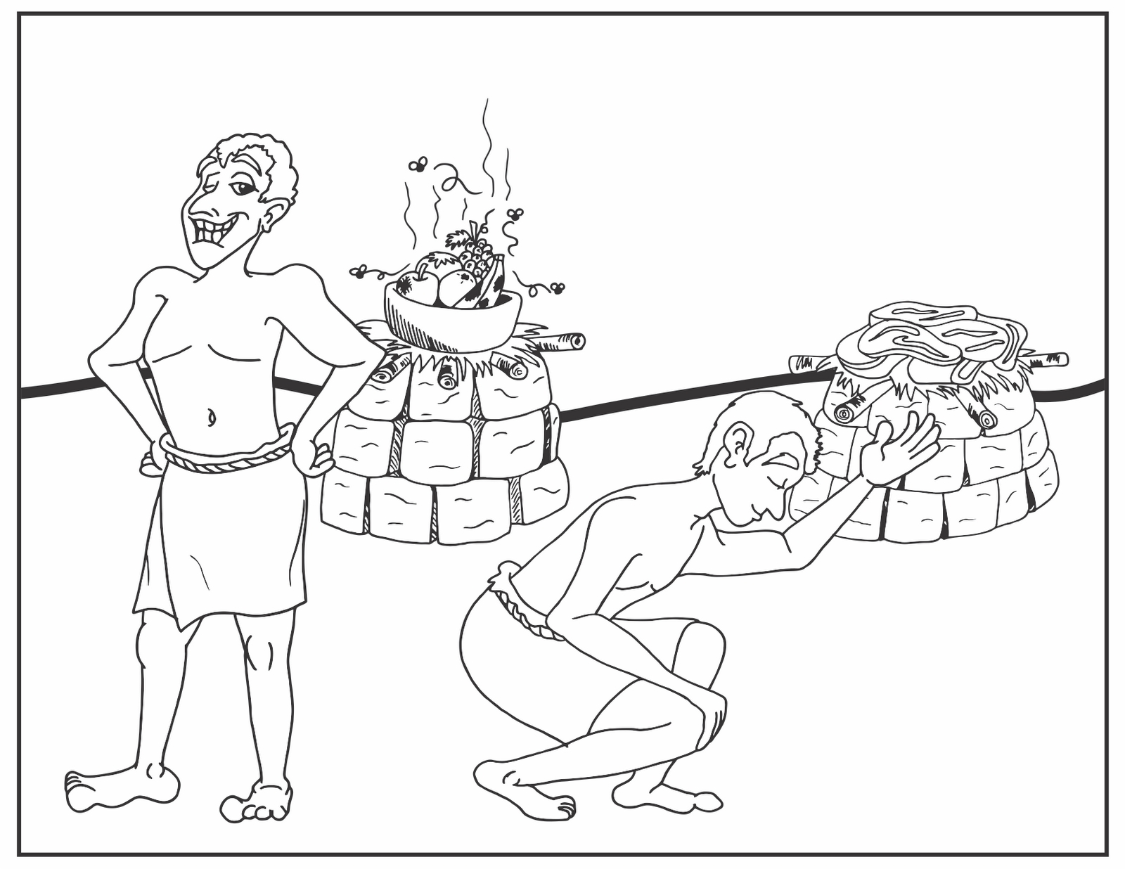 20 Cain and Abel Coloring Page Printable | FREE COLORING PAGES - Part 3