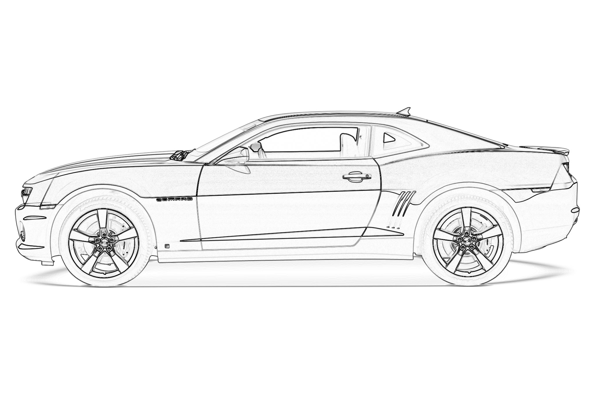 25 Camaro Coloring Pages Compilation | FREE COLORING PAGES