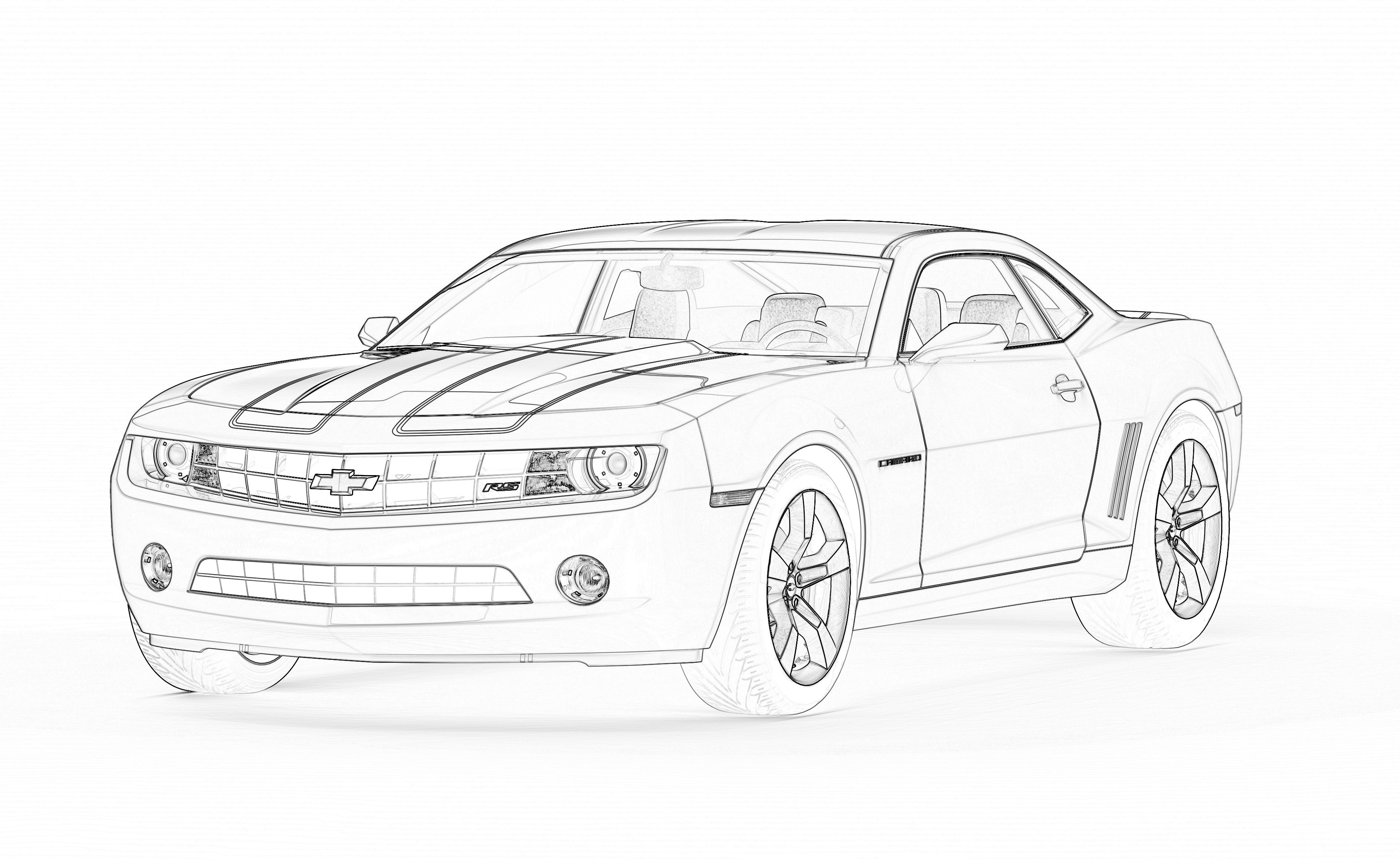 25 Camaro Coloring Pages Compilation Free Coloring Pages Part 2