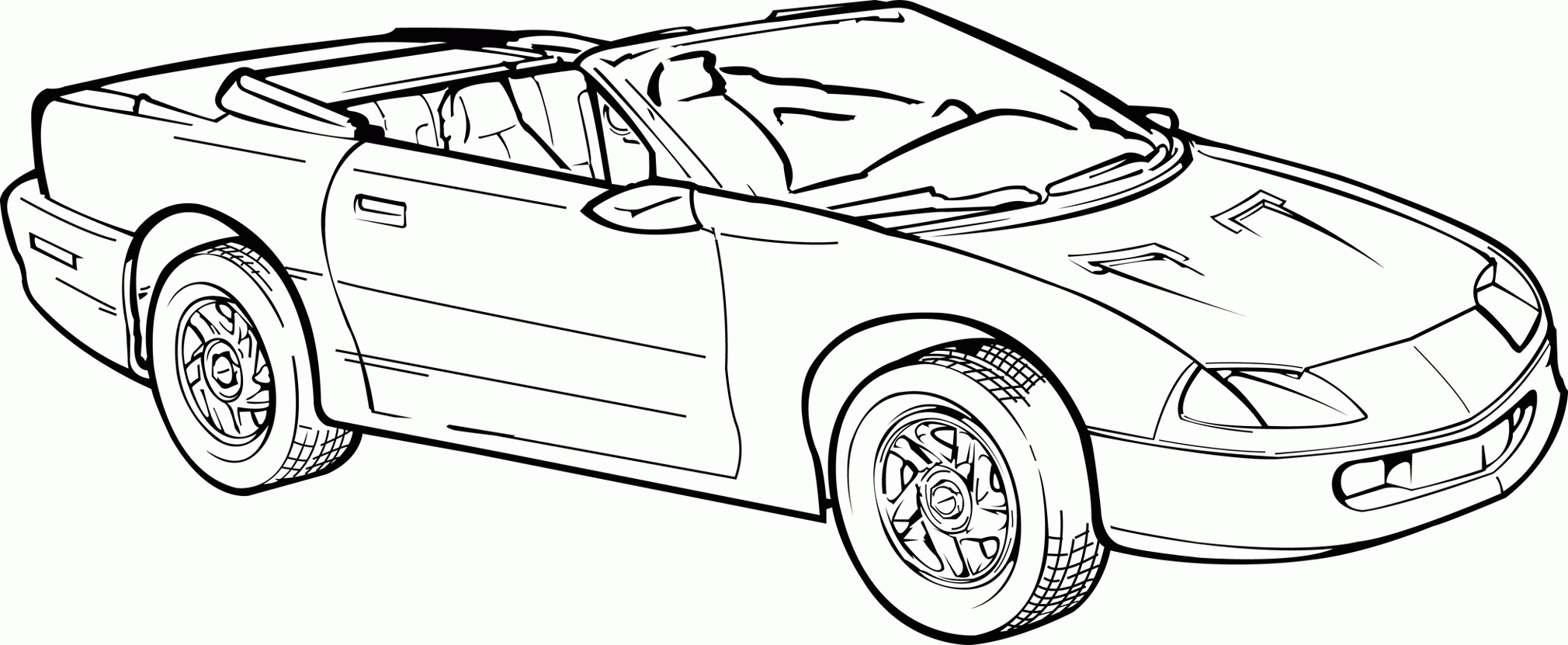 Camaro Coloring Pages - Chevrolet Camaro Coloring Pages Az Coloring Pages