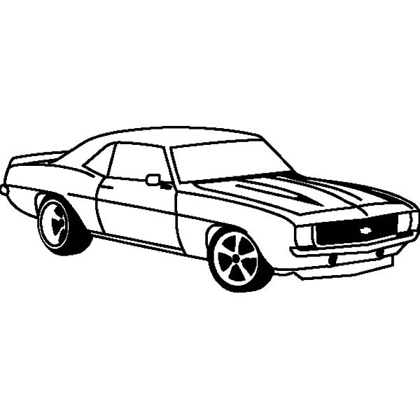 camaro coloring pages - how to draw camaro cars coloring pages