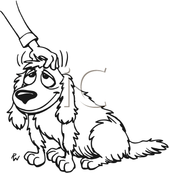 camel coloring page - dog