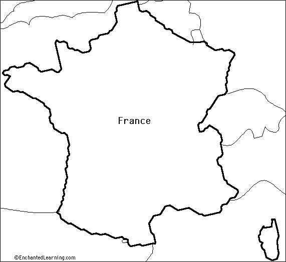 Fantastic Coloring Pages France Outline Map Pattern - Coloring Page ...