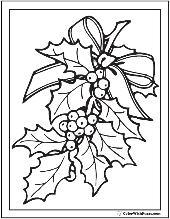 candy cane coloring page - christmas coloring pictures