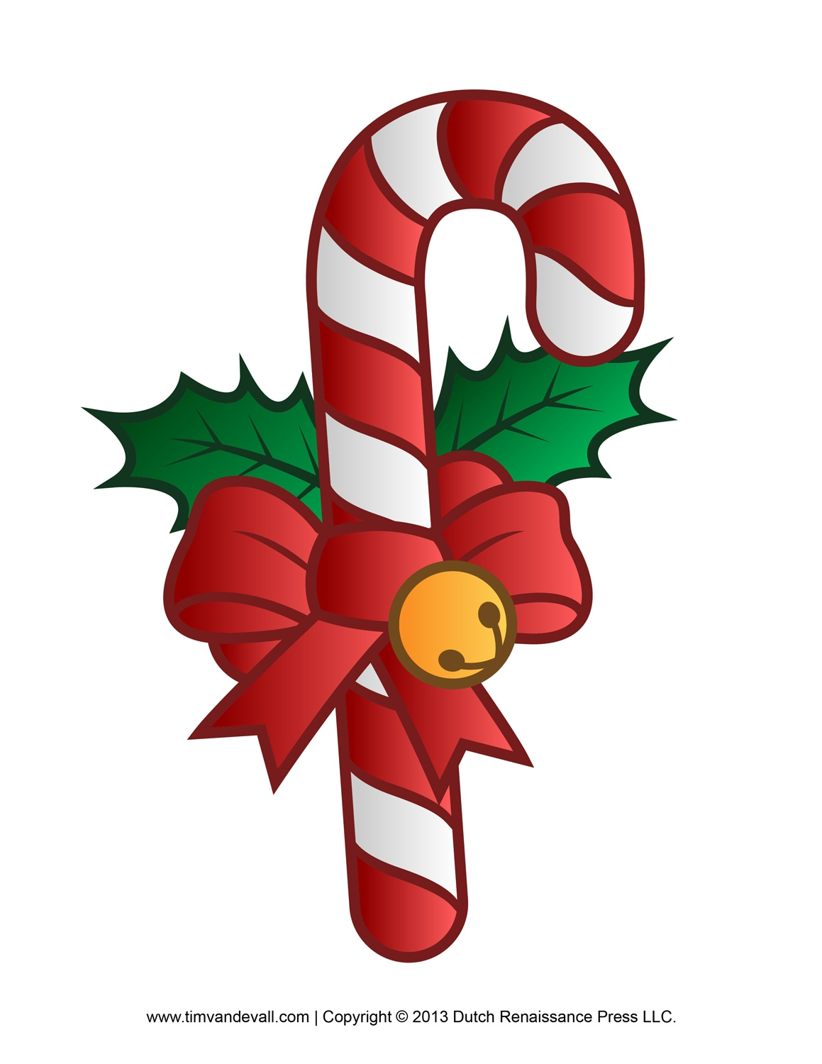 candy cane coloring page - candy cane clip art