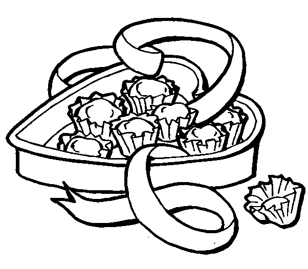 candy corn coloring page - q=candy bar