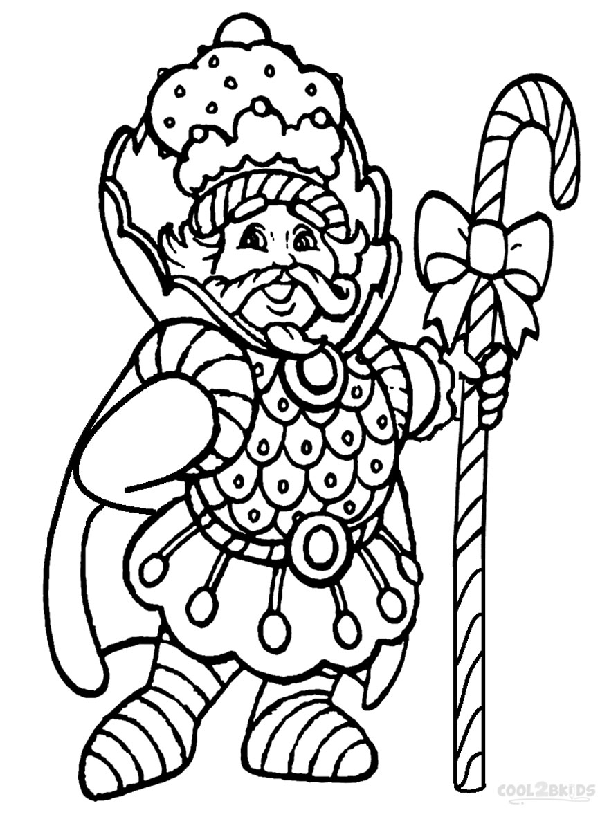 Candyland Coloring Pages - Printable Candyland Coloring Pages for Kids