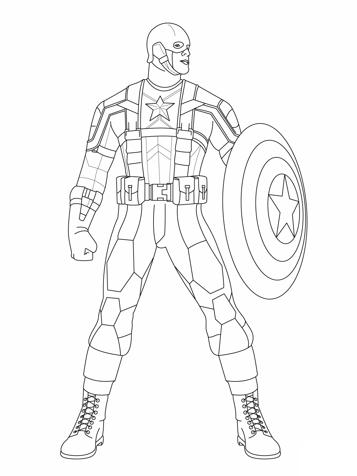 captain america coloring pages - captain america coloring pages