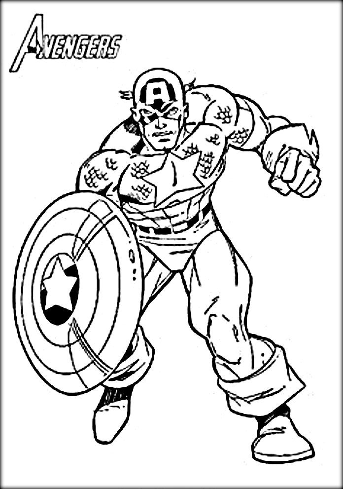 captain america shield coloring page - captain america coloring pages
