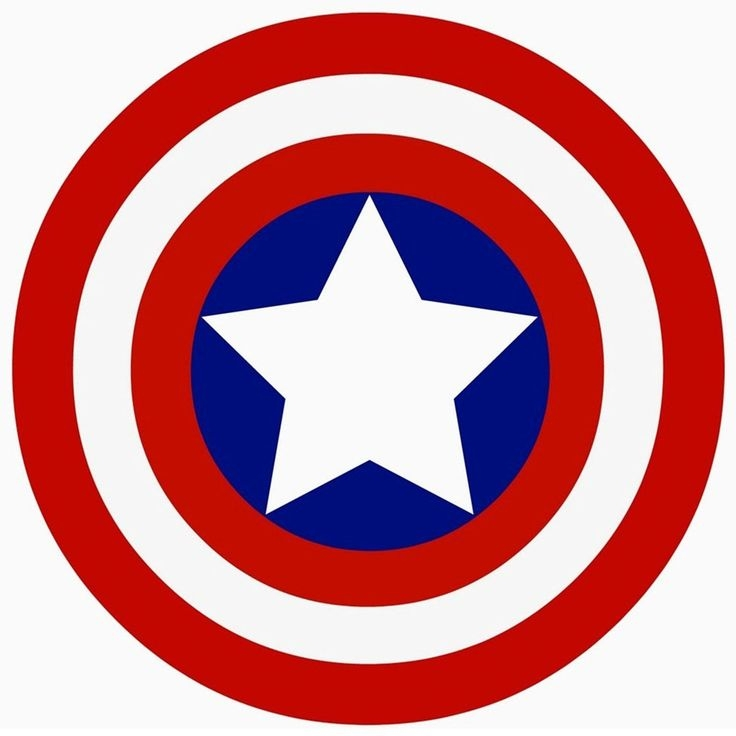 Captain America Shield Coloring Page - Captain America Shield Coloring Pages Printable Photo
