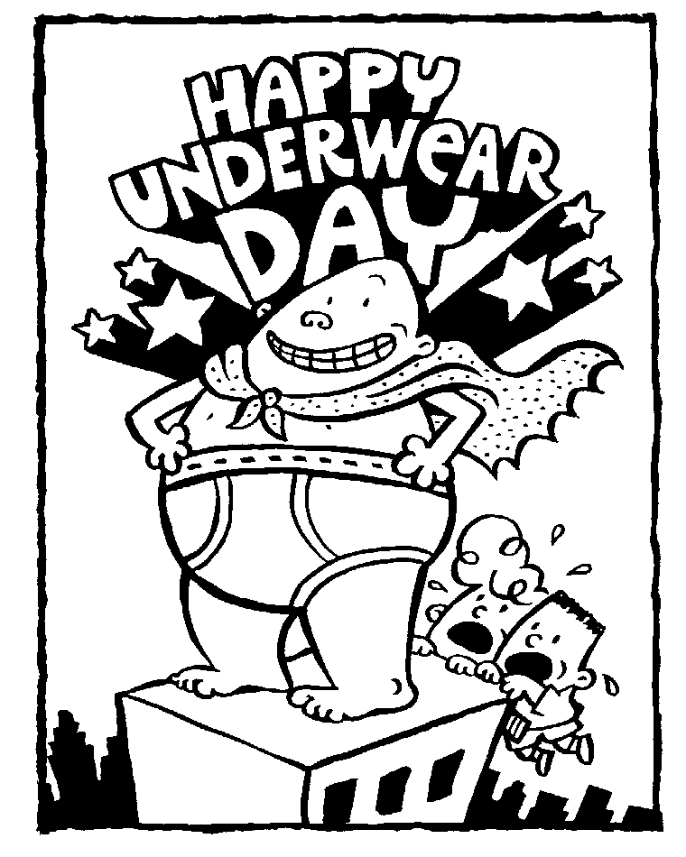captain underpants coloring pages - captain underpants coloring pages