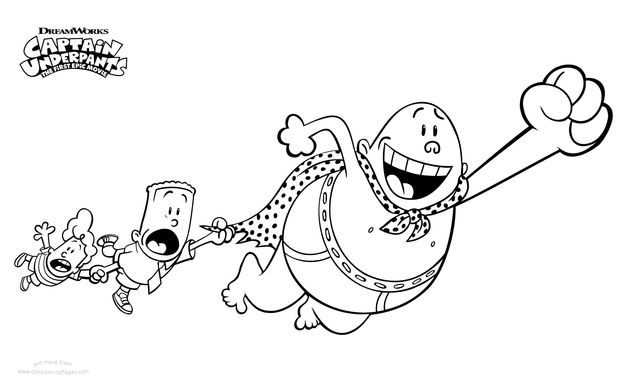 captain underpants coloring pages - captain underpants coloring pages sketch templates