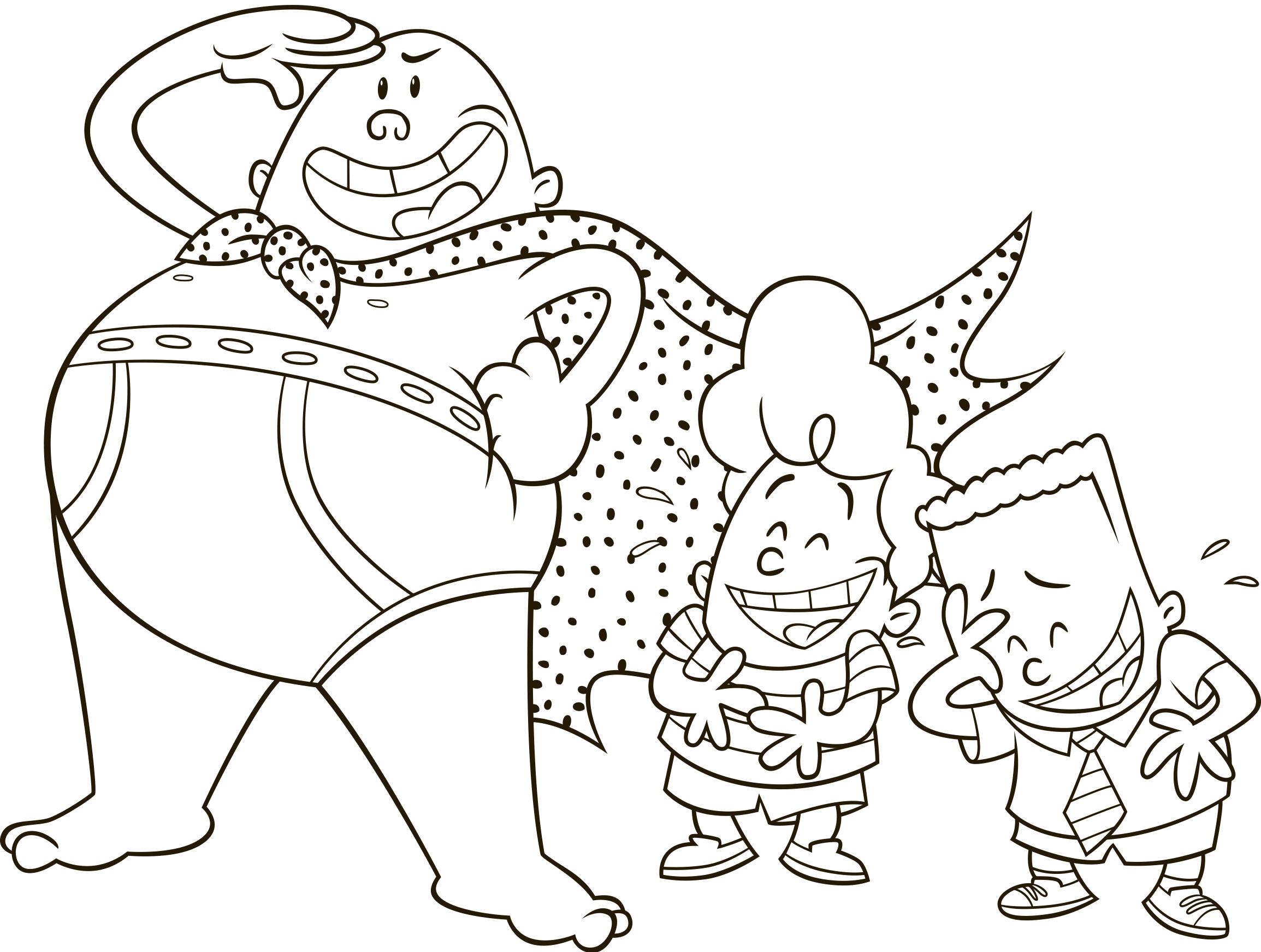 captain underpants coloring pages - captain underpants first epic movie movie night fun