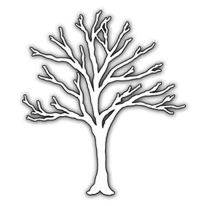 cardinal coloring page - impression obsession arbre nu
