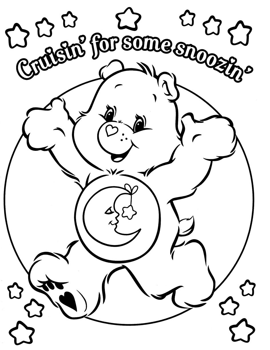 care bear coloring pages - care bear coloring pages