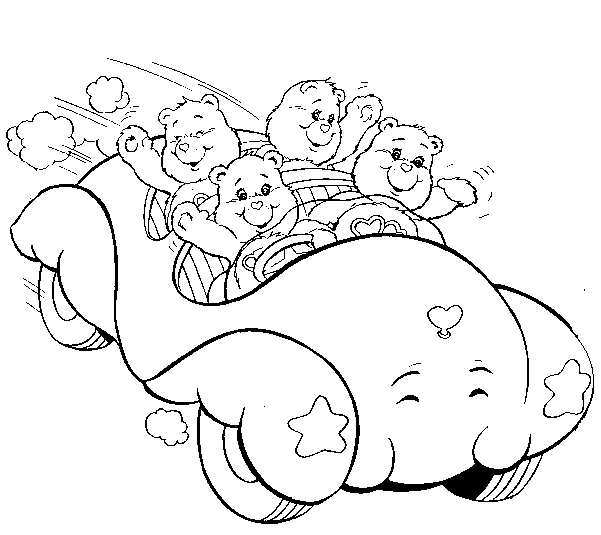 Care Bear Coloring Pages - the Care Bears Coloring Pages