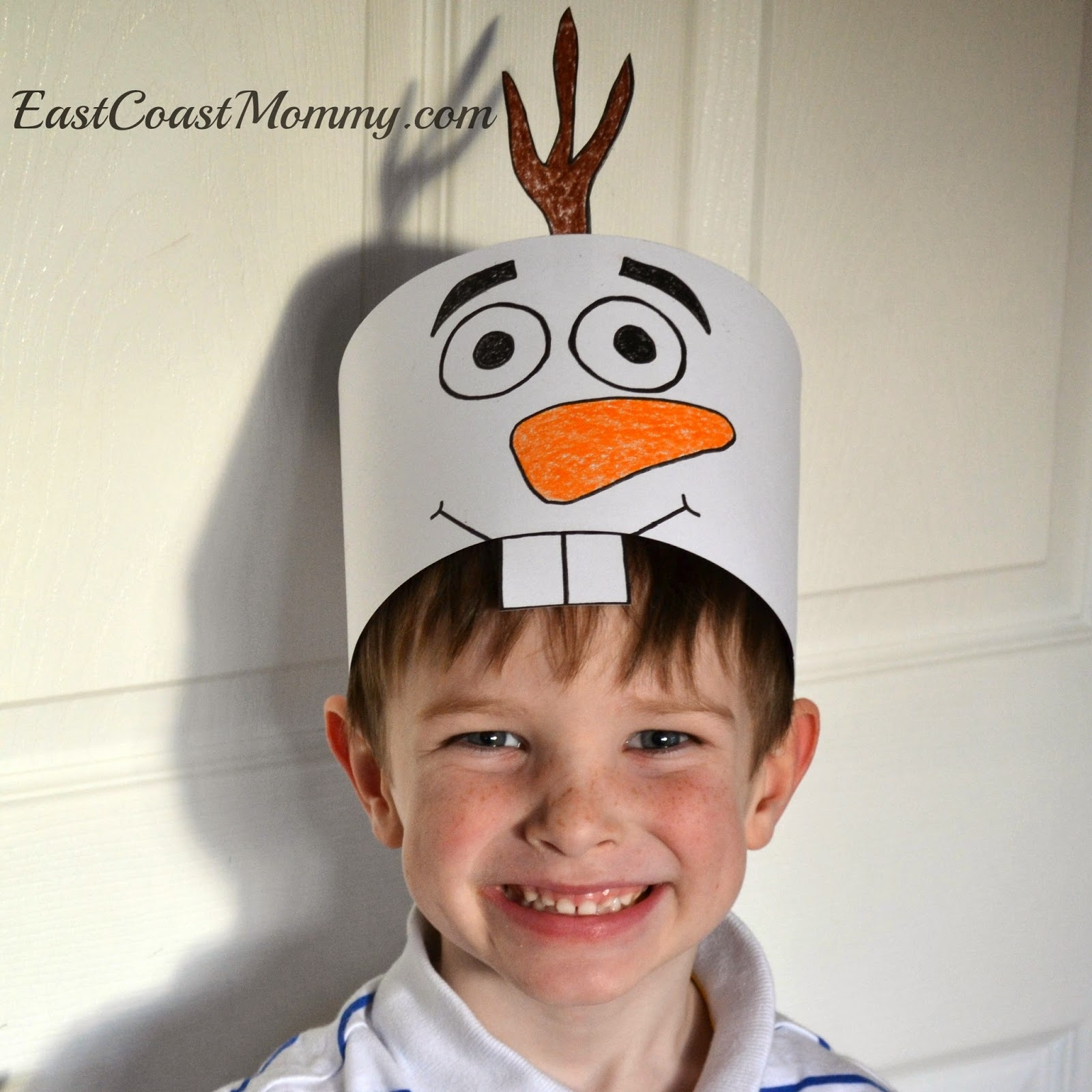 carnival coloring pages - diy olaf costume