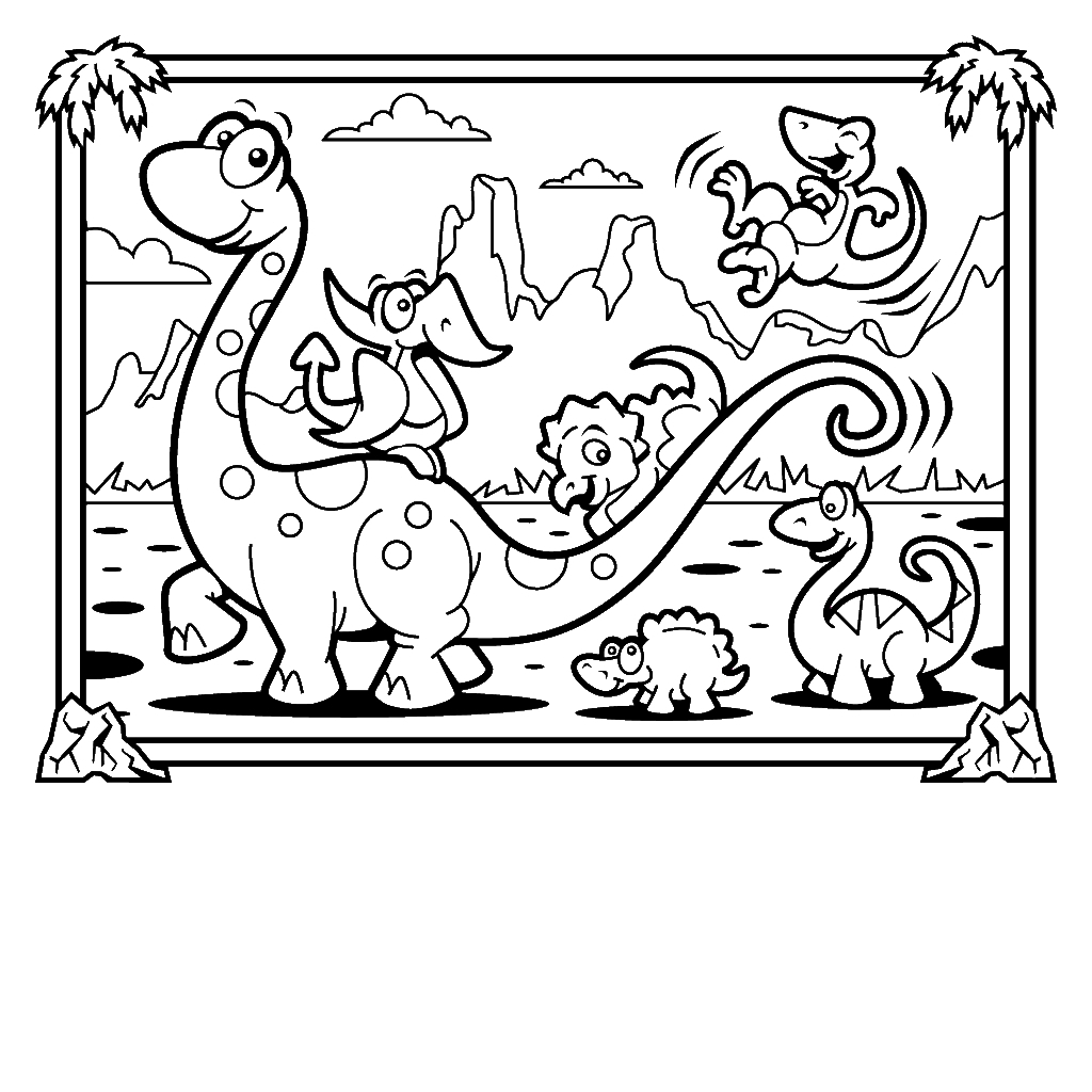 castle coloring pages - christmas dinosaur coloring pages christmas coloring pages your octopus a paintbrush or 8