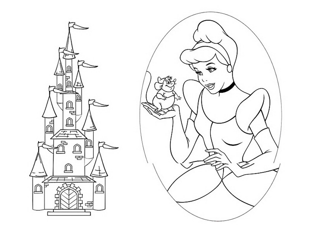 castle coloring pages - coloring suite pages 6319