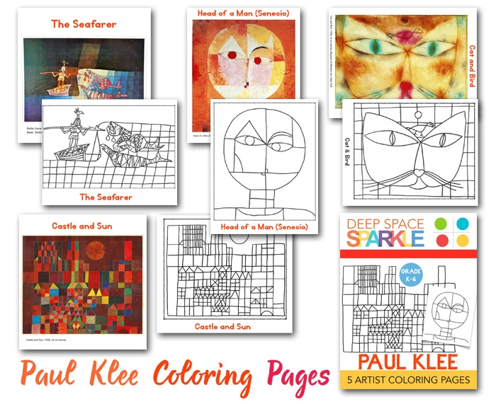 castle coloring pages - paul klee coloring pagesdrawing guides