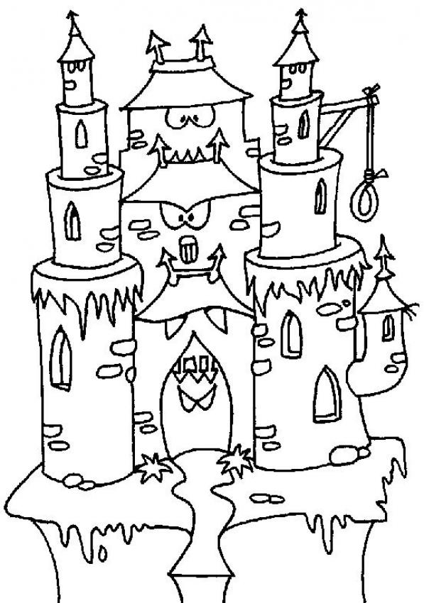 Castle Coloring Pages - Schloss