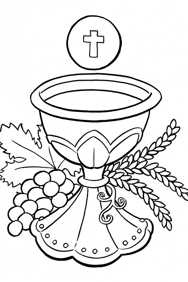 Catholic Coloring Pages - Catholic Free Colouring Pages