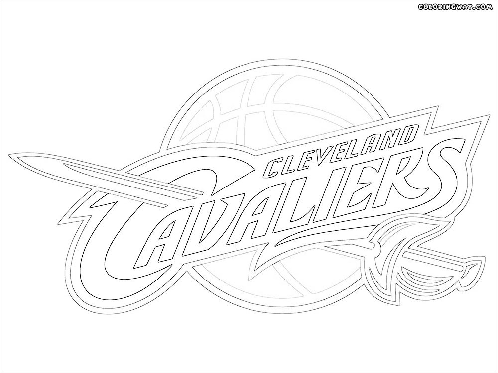 cavs coloring pages - cavaliers coloring pages coloring pages