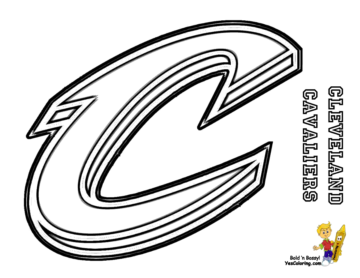 cavs coloring pages - privatcoloringpages 697