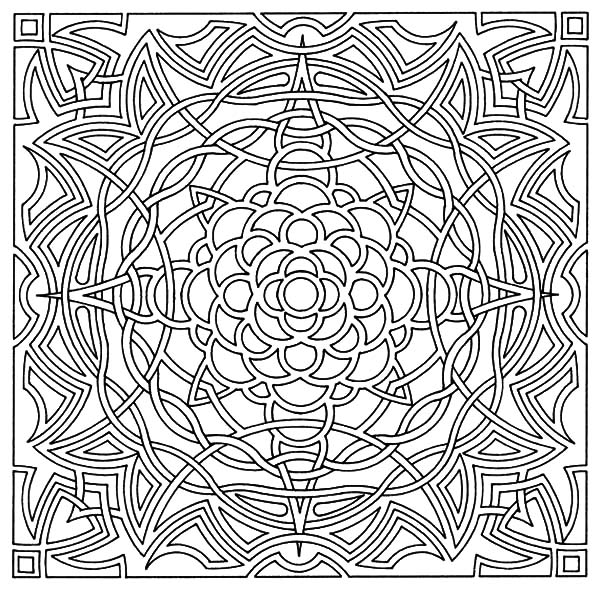 celtic coloring pages - celtic cross tattoo art coloring pages 2