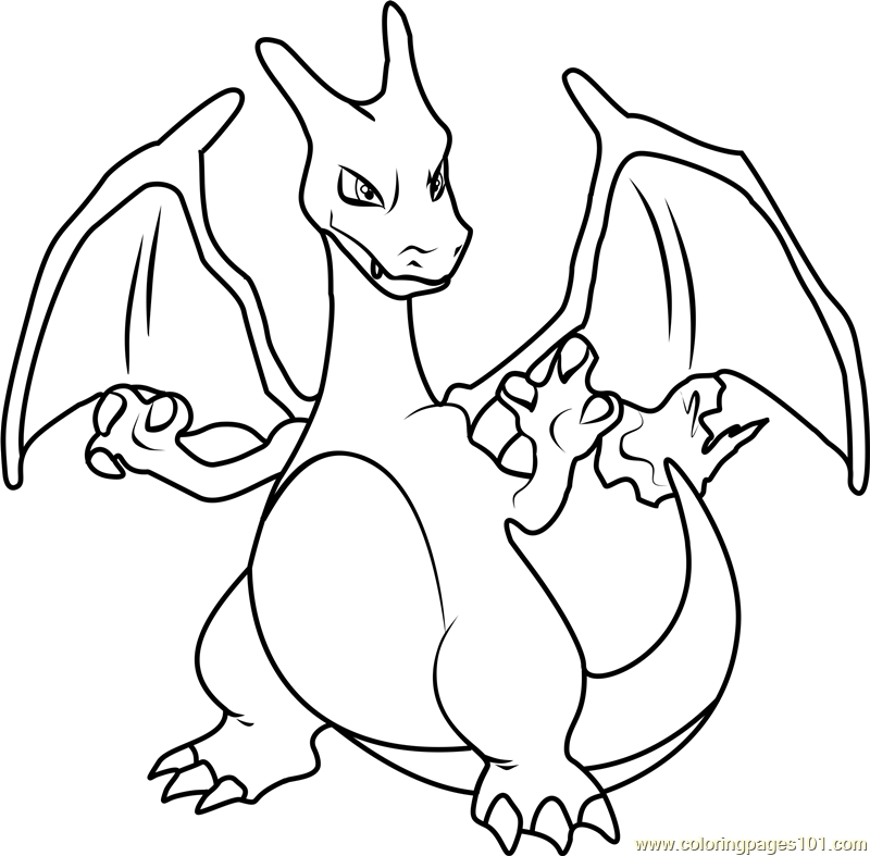 23 Charizard Coloring Page Collections | FREE COLORING PAGES ...