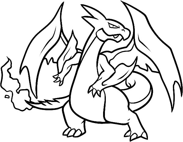 charizard coloring page - top coloring pokemon charizard coloring pages new at coloring pages mega evolved pokemon drawing