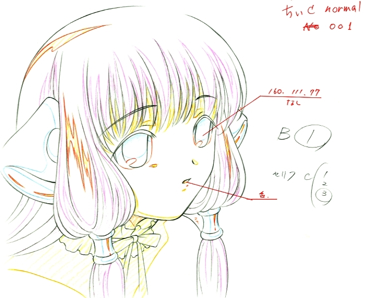 chemistry coloring pages - what are the different colors in anime production drawings for