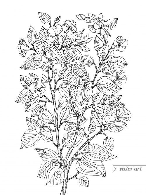cherry blossom coloring page - s twistynoodle img r cherry blossom tree cherry blossoms cherry blossoms coloring page