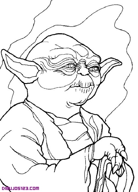 chewbacca coloring pages - 640