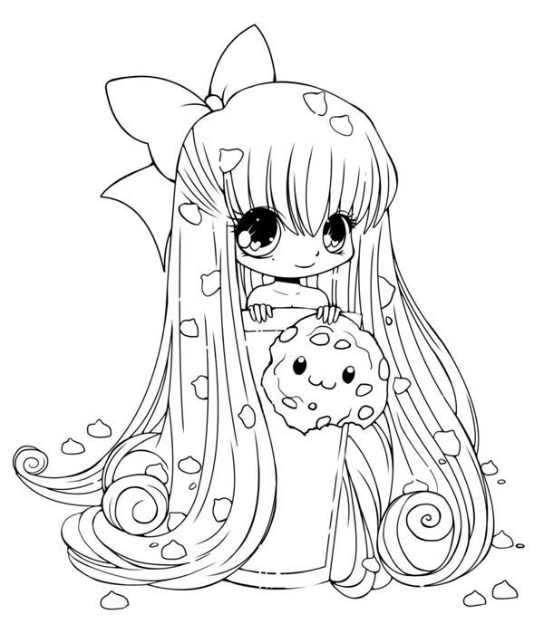 Chibi Girl Coloring Pages - 15 Cute Chibi Coloring Pages Printable