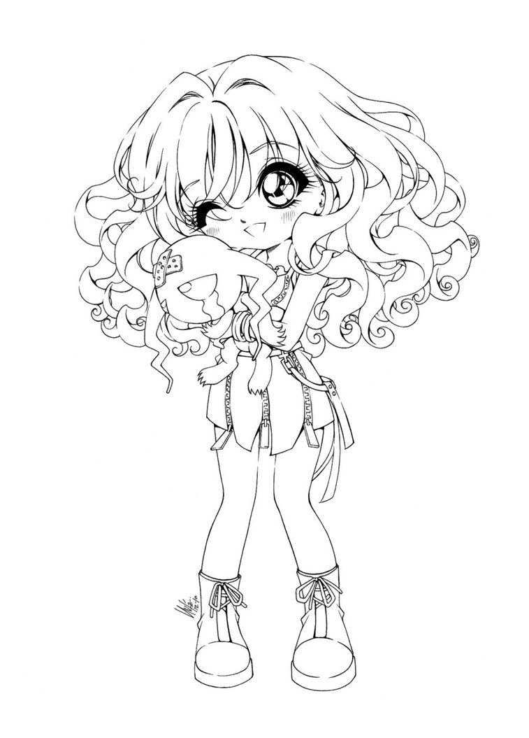 20 chibi girl coloring pages pictures free coloring pages part 2