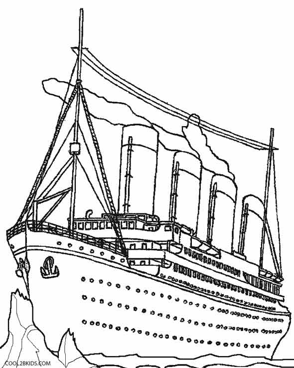 chicago cubs coloring pages - titanic coloring pages easy sketch templates