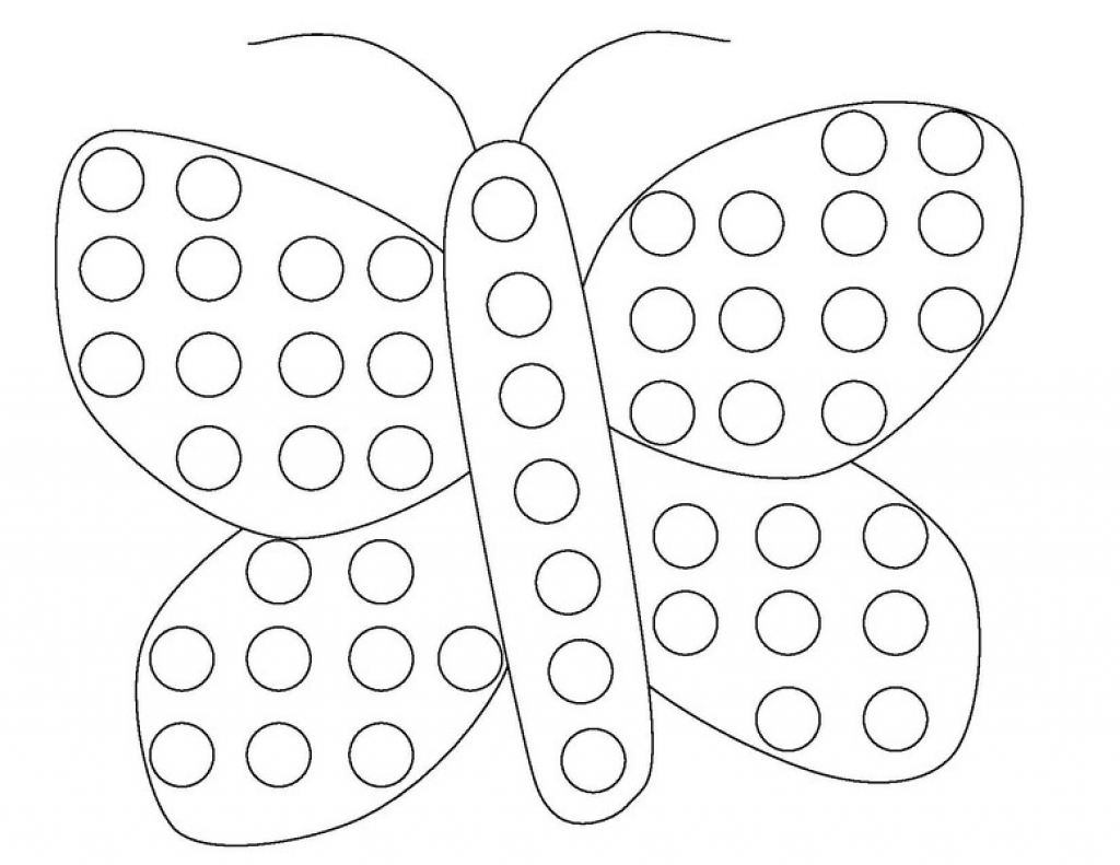 chicka chicka boom boom coloring page - dot coloring pages
