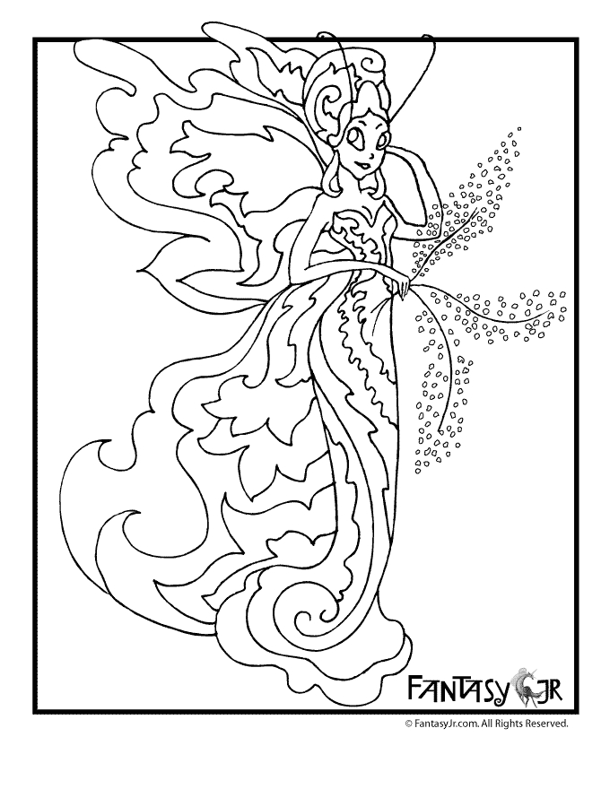 chicka chicka boom boom coloring page - printable fairy coloring pages for adults