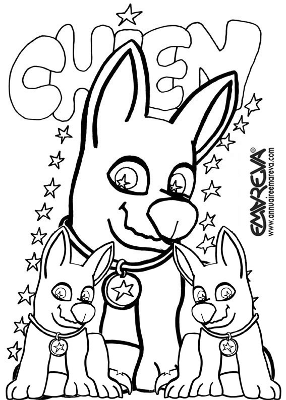 chihuahua coloring pages - 6