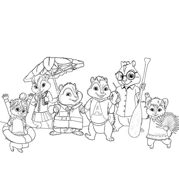 24 Chipmunk Coloring Pages Selection | FREE COLORING PAGES - Part 3