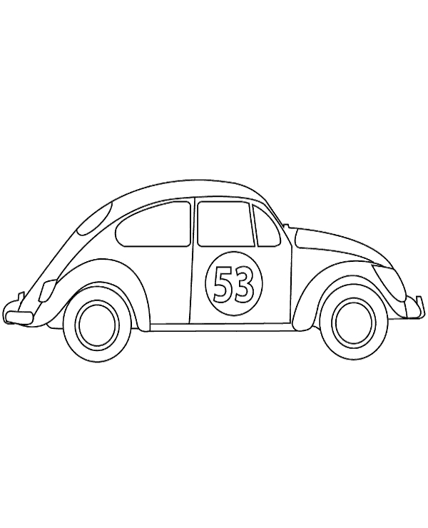 christian easter coloring pages - motorcar coloring page 7