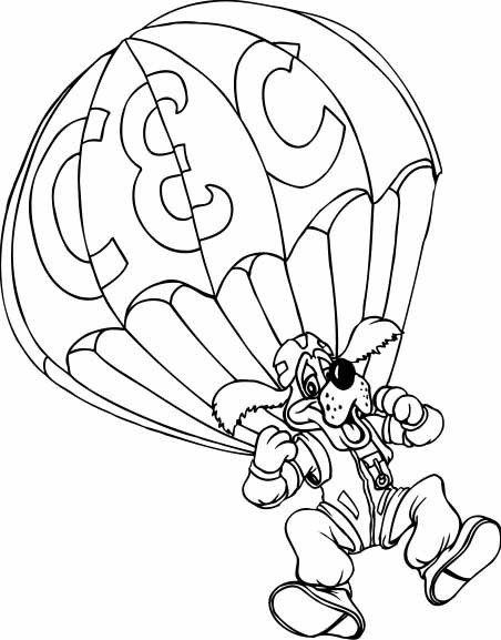 chuck e cheese coloring page - chucky cheese es