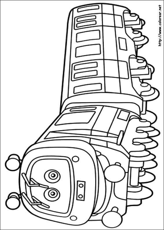 Chuggington Coloring Pages - Dibujos Para Colorear De Chuggington